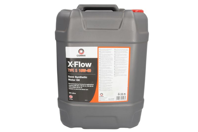 X-FLOW S 10W40 SEMI. 20L COMMA  motorolaj